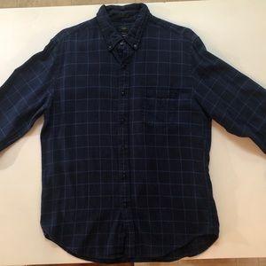J.Crew flannel shirt.
